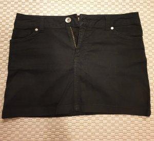 Y.O.U. Jupe en jeans noir