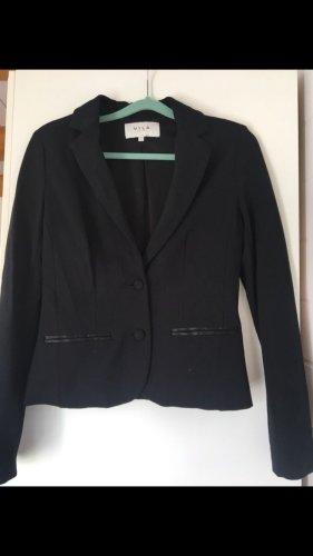 Schwarzer Jersey Blazer von Vila