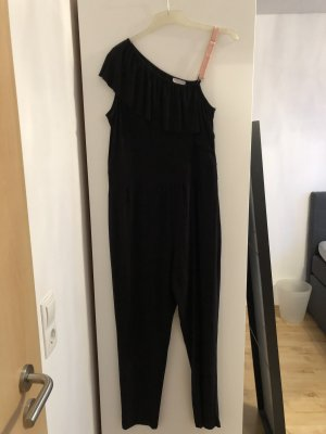Canda Premium Langer Jumpsuit zwart