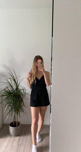 Sheinside Kurzer Jumpsuit black