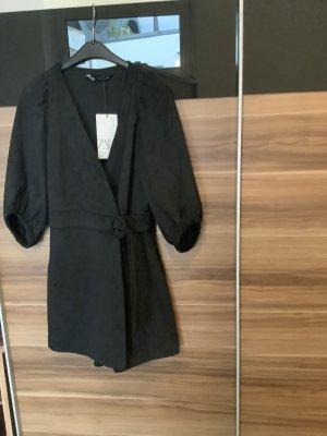 Schwarzer Jumpsuit von Zara Größe 36