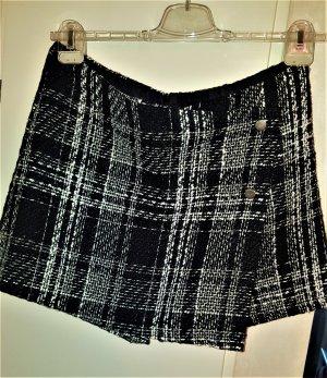 Amisu Skorts black-white polyester