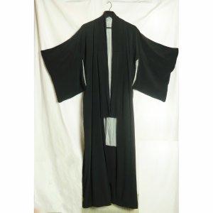 Robe portefeuille noir-gris clair