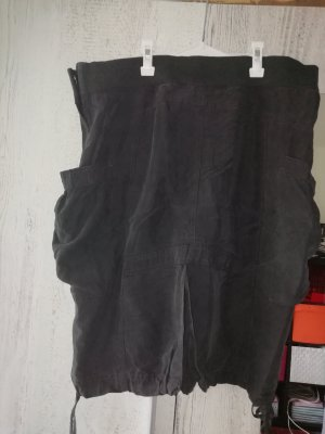 H&M Jupe cargo noir