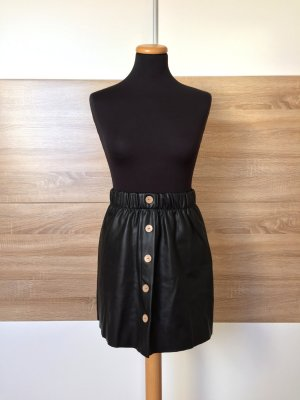 Reserved Leather Skirt multicolored mixture fibre