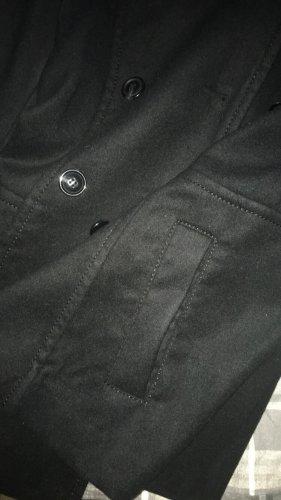 Schwarzer Kurz Mantel von H&M