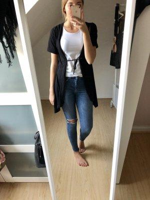 Qiero Short Sleeve Knitted Jacket black