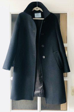 Prada Veste de pilote noir laine