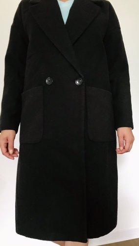 Jacqueline De Young Manteau oversized noir