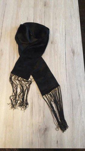 H&M Sciarpa con frange nero
