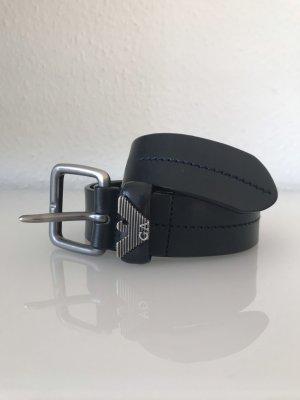 Armani Leather Belt black