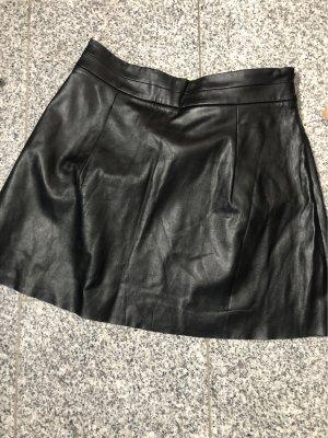 Suzanna Leather Skirt black