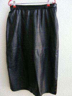 Schwarzer Lederrock von Miss Astor