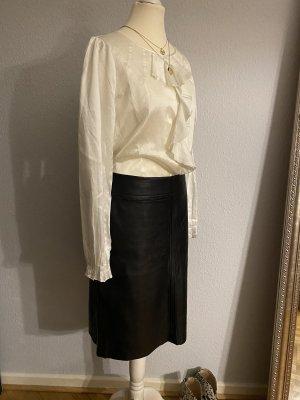 Oasis Leather Skirt black leather