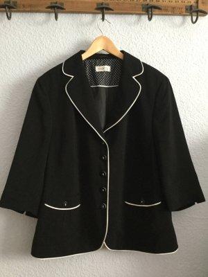 schwarzer leichter Blazer von Gelco Gr.50