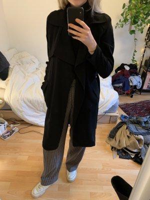 Bikbok Płaszcz przejściowy czarny