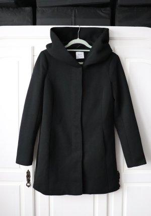 Dust Capuchon jas zwart