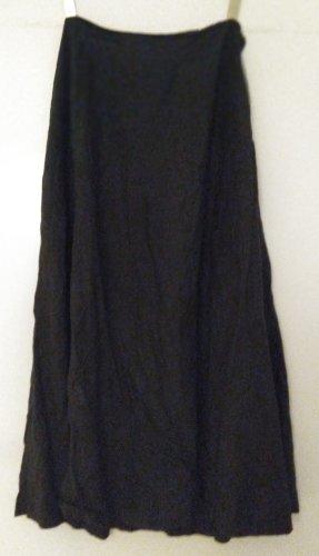 Hennes Collection by H&M Lniana spódnica czarny