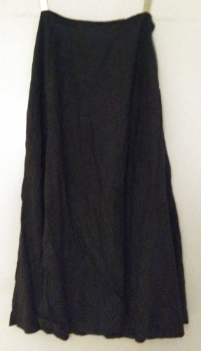 Hennes Collection by H&M Falda de lino negro