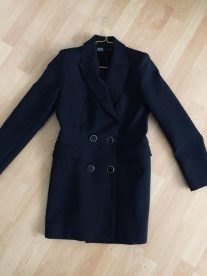 Schwarzer Long Blazer Zara S 36 Neu