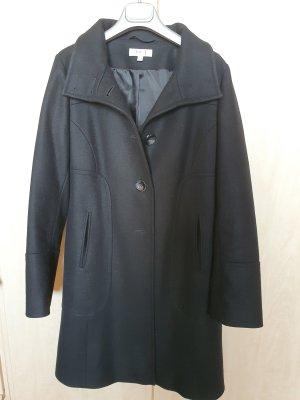 1.2.3 Paris Abrigo de piloto negro Lana