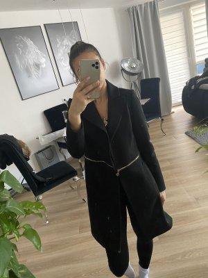 Winterjas zwart-goud