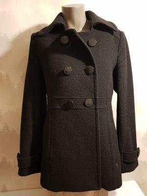 Anastacia by s.Oliver Wollen jas zwart Wol