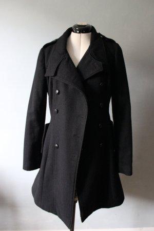 C&A Marynarski płaszcz czarny