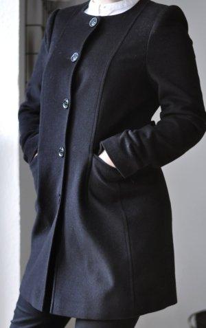 schwarzer Mantel - Esprit