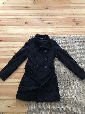 100% Fashion Manteau d'hiver noir