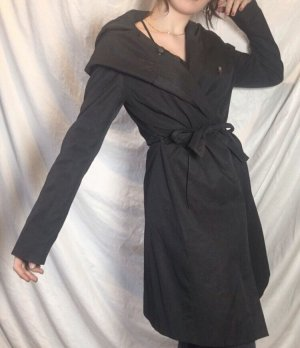 S'nop de Noblesse Cappotto con cappuccio nero