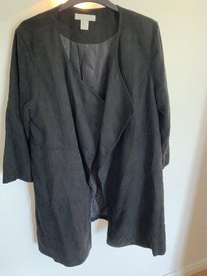 H&M Cappotto taglie forti nero