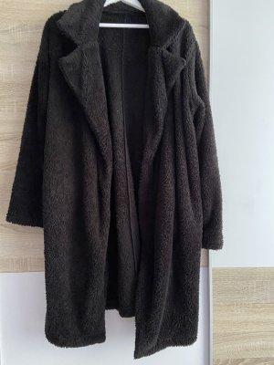 Sheinside Abrigo ancho negro