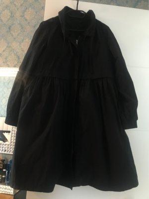 Armani Collezioni Manteau en duvet noir
