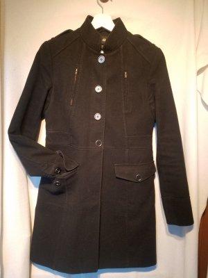 Schwarzer Mantel von H&M, Gr 38