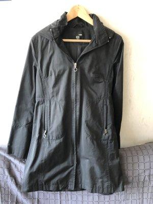 Schwarzer Mantel von H&M Größe 40