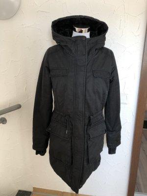 schwarzer Mantel /Wintermantel von Bench - Gr. M