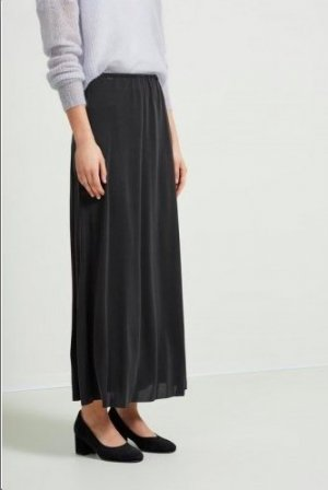 Selected Femme Falda larga negro