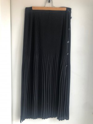 Topshop Plaid Skirt black polyester