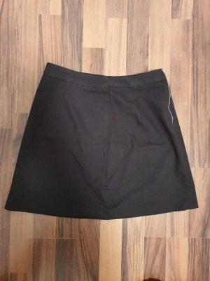 schwarzer Minirock