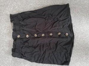 Pull & Bear Jupe taille haute noir