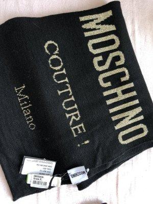 Boutique Moschino Woolen Scarf black