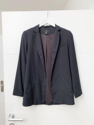 Schwarzer Oversize Blazer von H&M, 34