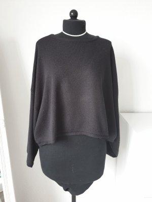 Schwarzer Oversize Pullover (Monki)