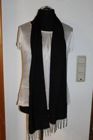 Keine Marke Pashmina noir polyester