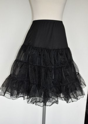 Tulle Skirt black mixture fibre