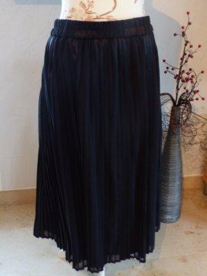 Plaid Skirt black polyester