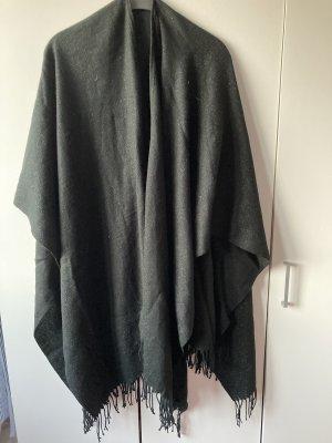 tchibo Poncho en tricot noir