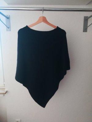 H&M Poncho noir