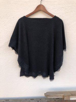 Schwarzer Poncho von Esprit